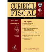 Curierul fiscal, Nr. 3/2010