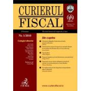 Curierul fiscal, Nr. 1/2010