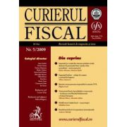 Curierul fiscal, Nr. 5/2009