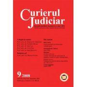 Curierul Judiciar, Nr. 9/2008