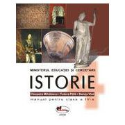 Istorie – manual, clasa a IV-a