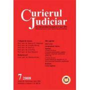 Curierul Judiciar, Nr. 7/2008