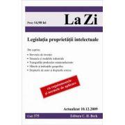 Legislatia proprietatii intelectuale (actualizat 10. 12. 2009). Cod 375