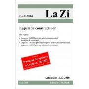 Legislatia constructiilor (actualizat la 10. 03. 2010). Cod 383