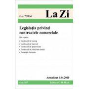 Legislatia privind contractele comerciale (actualizat la 1. 04. 2010). Cod 387