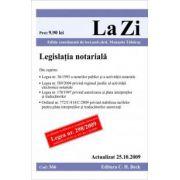 Legislatie notariala (actualizata la 25. 10. 2009). Cod 366