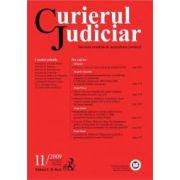 Curierul Judiciar, Nr. 11/2009