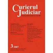 Curierul Judiciar nr. 3/2007