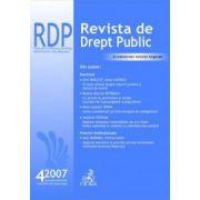 Revista de Drept Public, nr. 4/2007