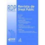Revista de Drept Public, nr. 4/2008