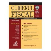 Curierul fiscal, Nr. 6/2009