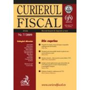 Curierul fiscal nr. 7/2009