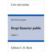 Drept financiar public. Editia 3