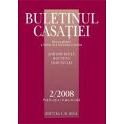 Buletinul Casatiei, Nr. 2/2008