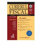 Curierul fiscal, Nr. 11/2009