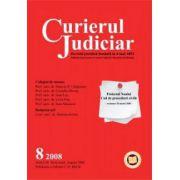 Curierul Judiciar, Nr. 8/2008