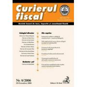 Curierul fiscal, nr. 9/2006