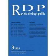 Revista de Drept Public, nr. 3/2005