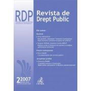 Revista de Drept Public, Nr. 2/2007