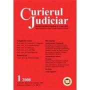 Curierul Judiciar, Nr. 1/2008