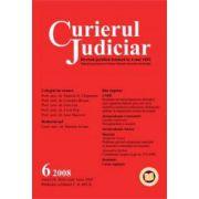 Curierul Judiciar, Nr. 6/2008