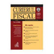 Curierul fiscal, Nr. 6/2008