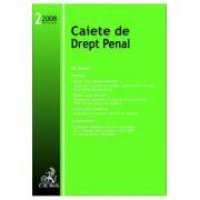 Caiete de Drept Penal, Nr. 2/2008