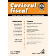 Curierul fiscal, nr. 7/2006
