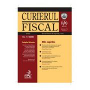 Curierul fiscal, Nr. 7/2008
