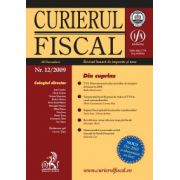 Curierul fiscal, Nr. 12/2009