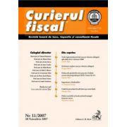 Curierul fiscal, nr. 11/2007