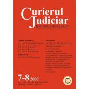 Curierul Judiciar, Nr. 7-8/2007