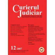 Curierul Judiciar, Nr. 12/2007