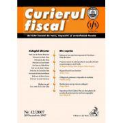 Curierul fiscal, nr. 12/2007