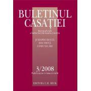 Buletinul Casatiei, Nr. 3/2008