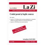 Codul penal si legile conexe (actualizat la 10. 03. 2010). Cod 384