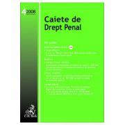 Caiete de Drept Penal, Nr. 4/2008