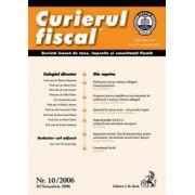 Curierul fiscal, nr. 10/2006 (noiembrie)