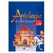 Antologie de texte literare, clasele I-IV