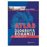 Atlas – Geografia României, clasa a IV-a