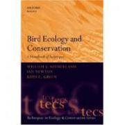 Bird Ecology and Conservation: A Handbook of Techniques (Techniques in Ecology and Conservation)