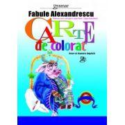 Carte de colorat 3 - Fabule Alexandrescu