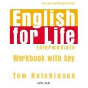 English for Life Intermediate Workbook with key