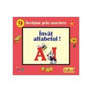 Invat alfabetul A-I - pliant cartonat