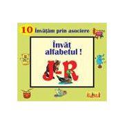 Invat alfabetul J-R - pliant cartonat