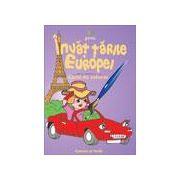 Invat tarile Europei (carte de colorat)