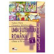 Limba Romana, clasa a IV-a. Caietul elevului. Partea I-a