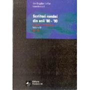 SCRIITORI ROMANI DIN ANII `80-`90. DICTIONAR BIOBIBLIOGRAFIC. VOL. II. LITERELE G-O