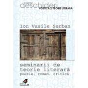 SEMINARII DE TEORIE LITERARA. POEZIE, ROMAN, CRITICA