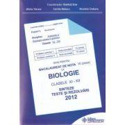 Ghid pentru bacalaureat de nota 10 la biologie clasele XI-XII 2012